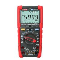 UNI T UT195DS Industrial True RMS Digital Multimeter Analog bar AC DC DMM Volt Amp Ohm meter LPF/ LoZ Tester IP65/Dual dispaly