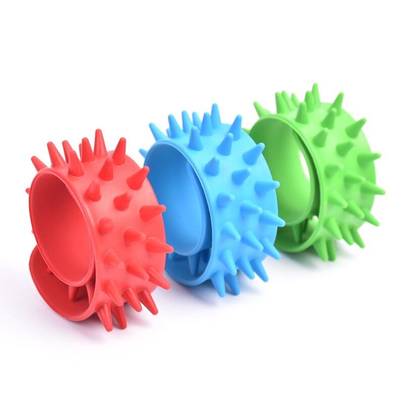 6pcs//lot Spring Bracelet Fidget Fiddle Sensory Chew Bracelet Autism ADHD Toys