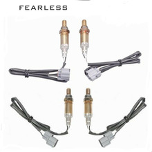 NEW(4PCS)Oxygen Sensor O2 Combo 234 4694 234 4696 for 99 04 Land Rover Discovery Oxygen Sensor