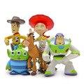 5 Pçs/set Bonecos Toy Story Anime Pixar Toy Story Da Disney 3 Buzz Lightyear Figuras de Ação Figuras de Ação de Plástico Bonecas Juguete F034