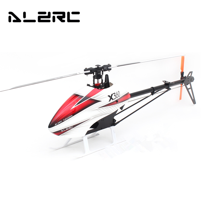 2018 New Arrival ALZRC X360 FAST FBL 6CH 3D Flying RC Helicopter Kit Toys alzrc devil 380 fast fbl super rc helicopter kit aircraft rc electric helicopter 480fbl frame kit power driven helicopter drone
