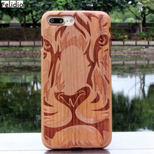 Natural Wooden Back Cover for iPhone