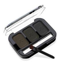 3 Colors Set Women Makeup Waterproof Lasting Eyeshadow Palette Brow Powder  Cosmetic Hot Seling