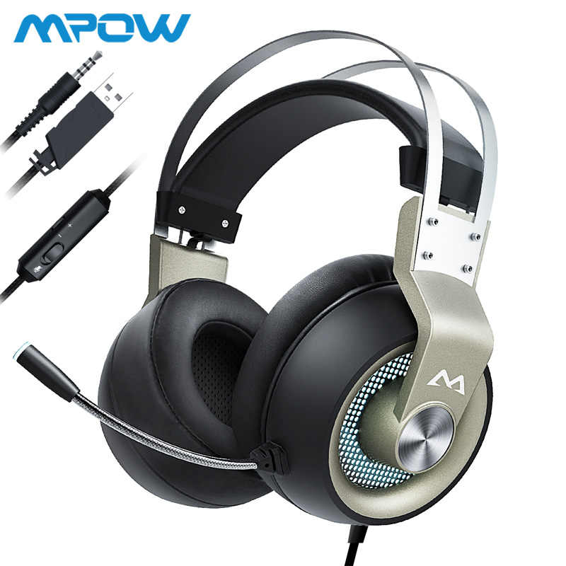 Mpow EG5 3 5mm Wired Gaming Headset Breathable Over Ear
