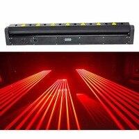 1200MW Moving head RED laser array R650NM 150mW rough spotX8PCS stage party disco KTV bar club theatre studio iluminacion light