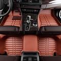 Esteras del piso del coche Para BMW f10 e30 e34 e36 e39 e46 x1 x3 x5 x6 325 520 320 cubierta del coche del coche accesorios car styling