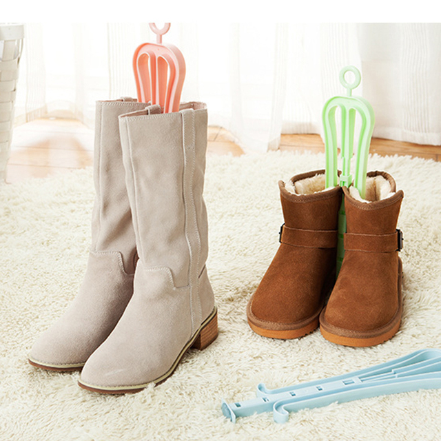Creative Retracted Shoe Rack Long Boots Winter Warm Shoes Stand Rack For  Home Shoes Tidy Organizer