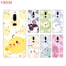 Animal Cartoon Funny Phone Back Case For OnePlus 7 Pro 6 6T 5 5T 3 3T 7Pro 1+7 Art Gift Patterned Customized Cases Cover Coque