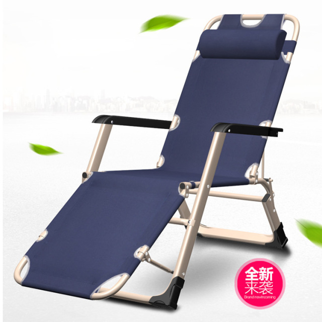 The Two Sides Recliner Chair Folding Office Bed Couch Afternoon Beach