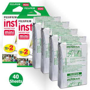 Image 3 - Fujifilm Instax מיני 9 מצלמה + 40 יריות מיני 8 מיידי לבן סרט תמונה נייר + PU לשאת תיק + אלבום + מקרוב עדשה + מתנת סט
