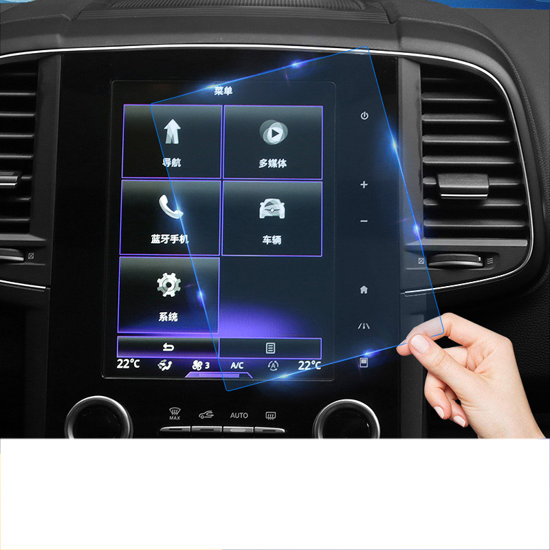Lsrtw2017 Car GPS Navigation Screen Protective Toughened Film For Renault Koleos 2016 2017 2018 2019 Renault Samsung QM6