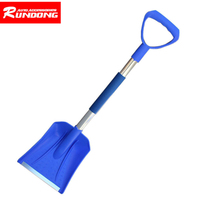 87 23cm Car Home Telescopic Emergency Shovel With Grip Top Quality ABS Car Styling Car Tool