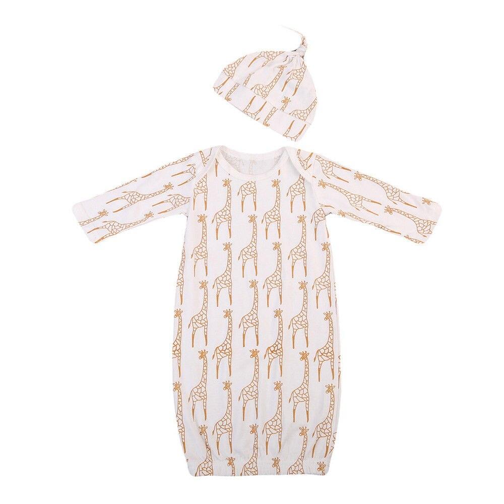 Clever Super Nette Babys Deer Kleidung Neugeborenen Mädchen Jungen Langarm Strampler Schlafsack Pyjamas Kleidung