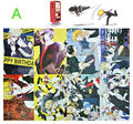 8 pcs/set DuRaRaRa poster anime DRRR Izaya Sturluson Masaomi Shizuo figure posters for wall 42x29cm free shipping