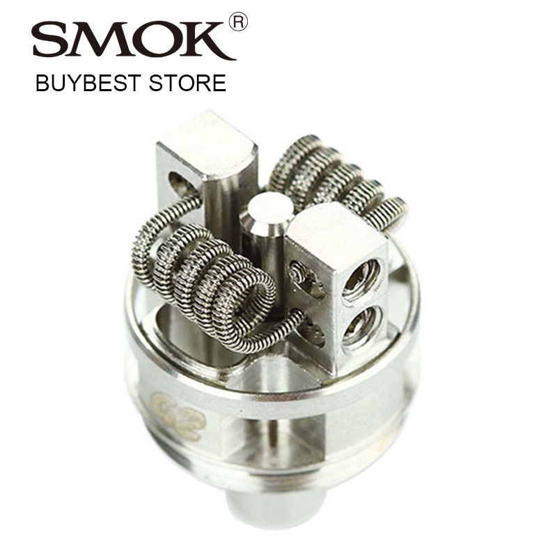 Wholesale 1/2/5/10 Pieces Original Smok TF-RTA G2 Deck Work For SMOK TF RTA Rebuildable Tank Atomizer Dual-post Velocity G2 Deck