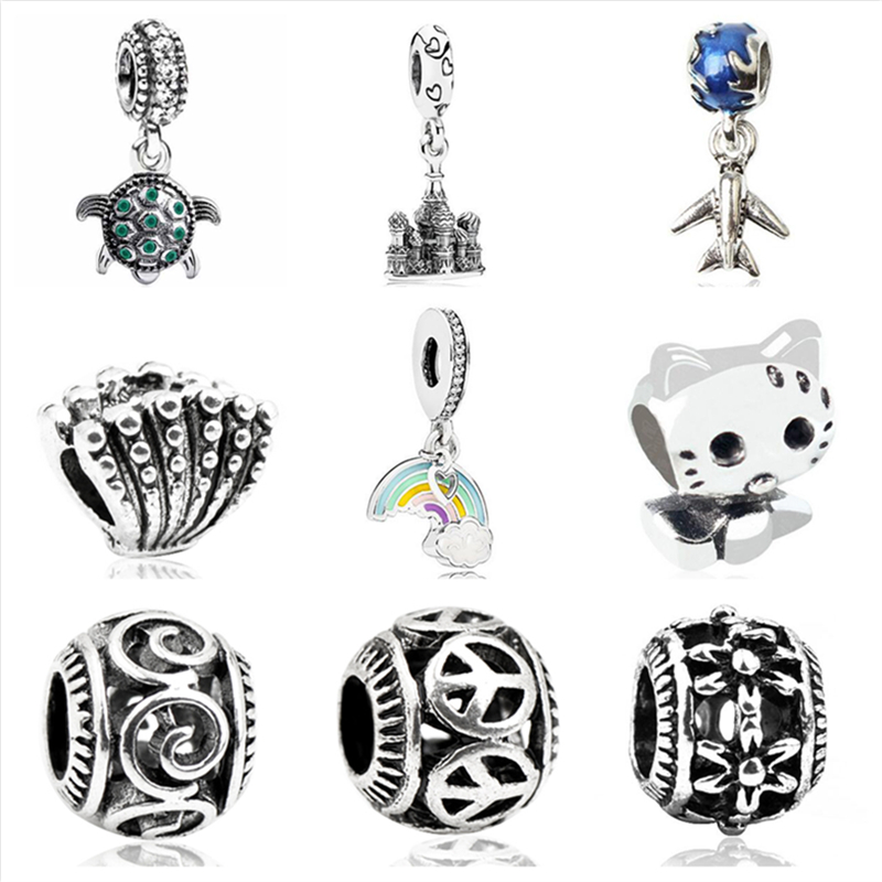 Jewelry & Accessories Aifeili Wheat Beads Pendant Christmas Bell Old Man Mask Pendant Diy Fit Pandora Bracelet Jewelry European Charm At All Costs