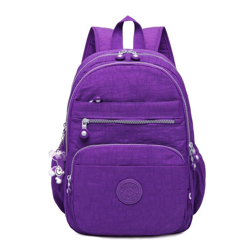 TEGAOTE Brand Laptop Backpack Women Travel Bags 2019 Multifunction Rucksack Waterproof Nylon School Backpacks For Teenagers