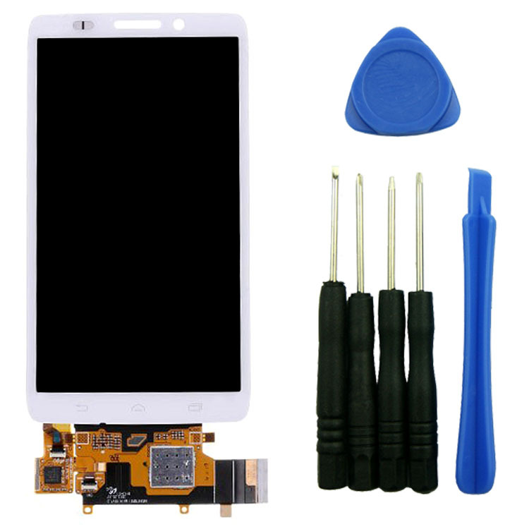 White LCD Screen+Touch Glass Digitizer Assembly For Motorola Droid Ultra XT1080 MAXX 1080M with tools High Quality