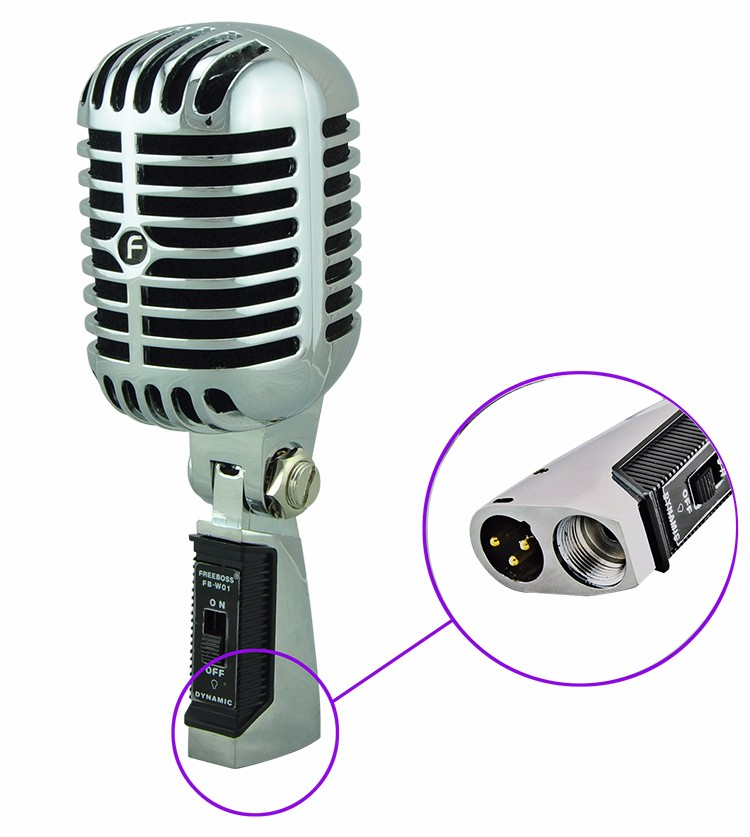 FB-W01 13 Wired Microphone