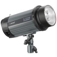 Neewer 300W 5600K Photo Studio Strobe Flash Light Monolight with Modeling Lamp, Aluminium Alloy Professional Speedlite