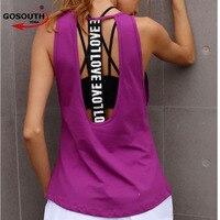 Women S Yoga Tank Top Sleeveless Running Gym Fitness Shirts Sexy Sports Vest Workout T Shirts