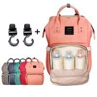 Stroller Hook Diaper Bags Stroller Large Capacity Baby Nappy Bag Mummy Travel BackpacksBaby Care Nursing Bag