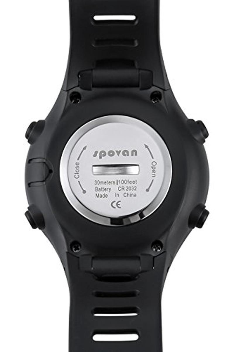 EDT-Spovan SPV709 Multifunctional Sports Watch Mountaineer Altitude Barometric Pressure Temperature Fishing Waterproof Sport W