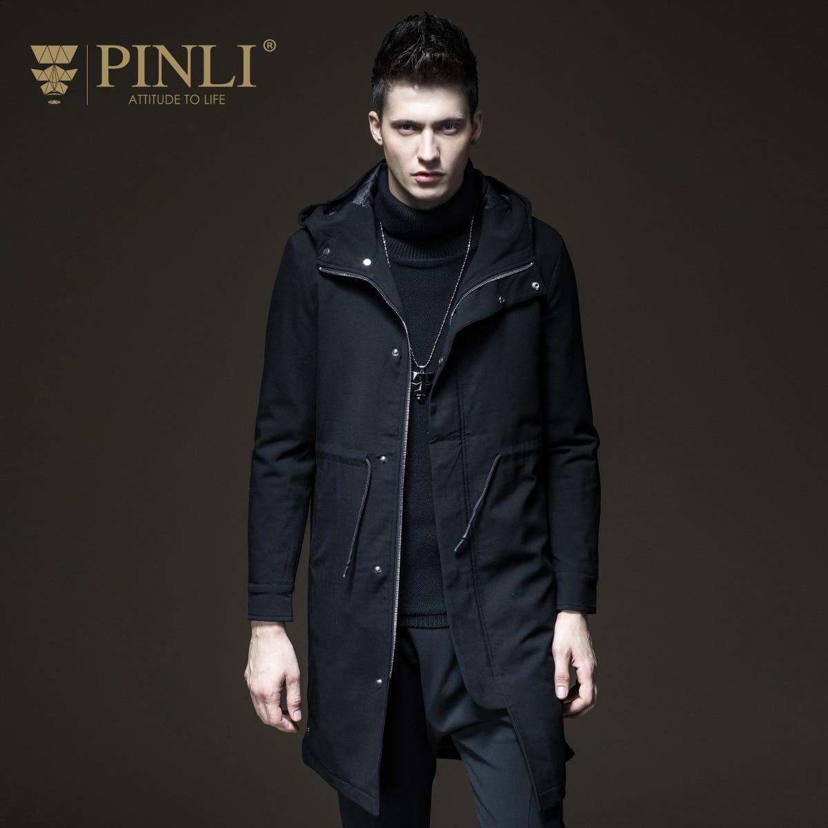 2018 Бросился Новый Pinli продукт изготовлен из культивировать мораль даже крышка теплая хлопковая стеганая одежда мужской хан издание пальто