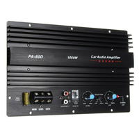 Car Audio Subwoofer Durable Aluminum Amplifier Board Speaker Bass Home Mono Channel Module Sound Digital High Power Music Player