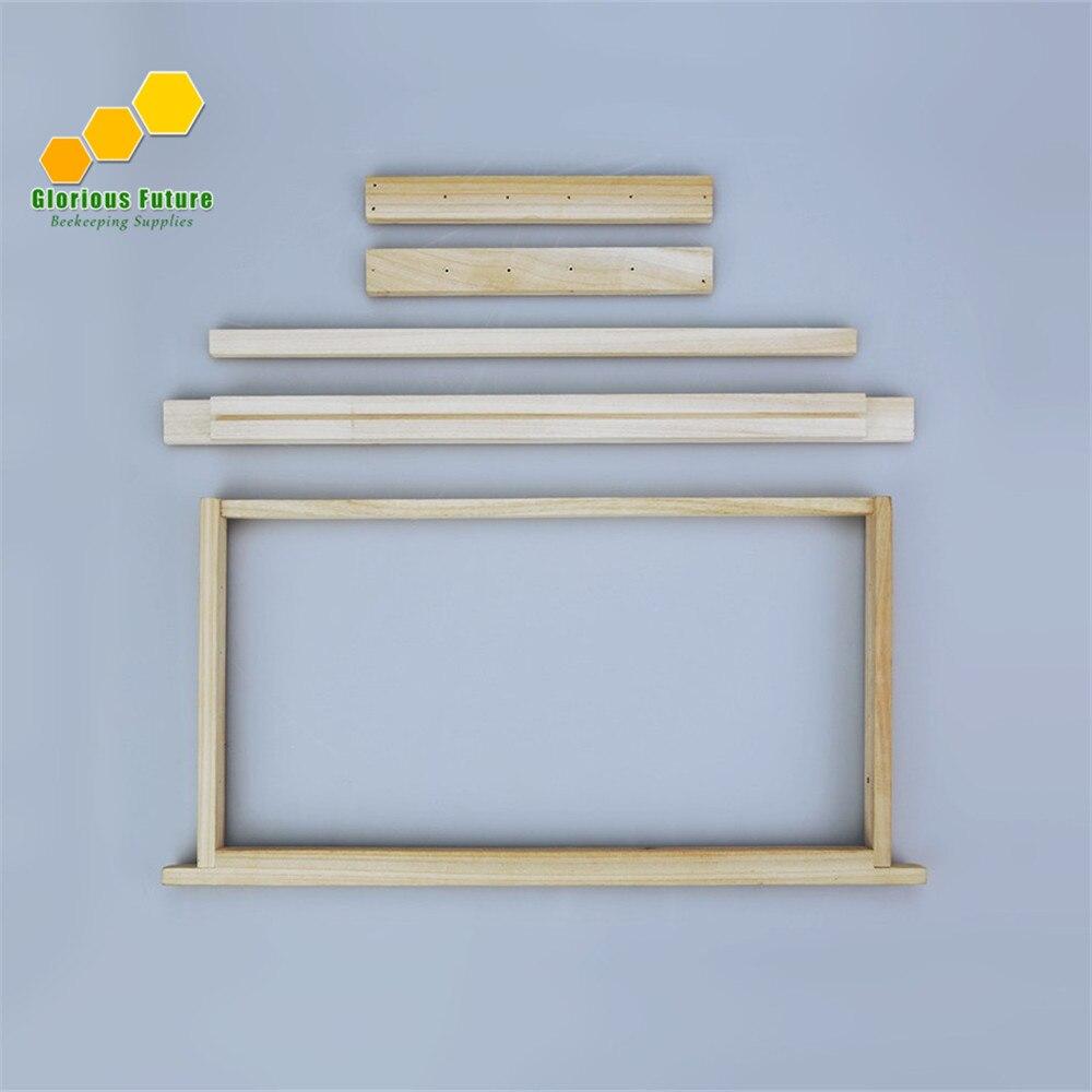 8 stücke Rahmen Von Bienen Unmontiert Rahmen Langstroth Bee Hive Box ...