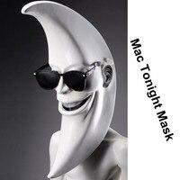 Mac Tonight Costume BOB BAKER Moon Wigs Halloween Mask Masquerade Latex Masks Party Carnaval Costume Men