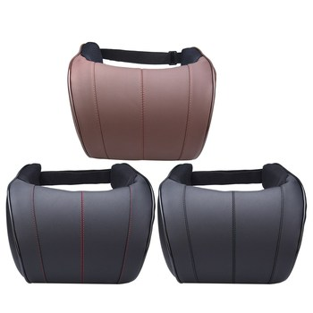 1ピースPUレザーオートカーネック枕低反発枕ネックレストシートヘッドレストクッションパッド3色高品質1