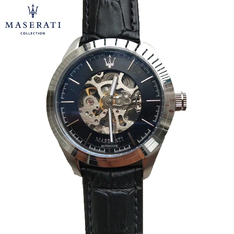 Maserati Fashion Mechanical Wristwatches 2018 New Water Resistant Wristwatches Casual Stainless Steel Watches R8853123007