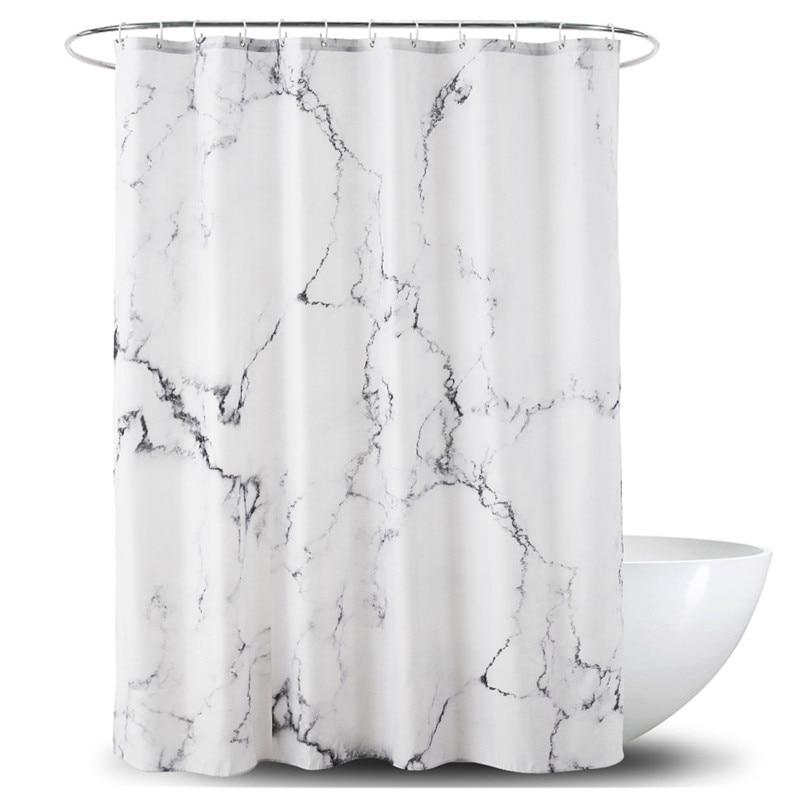 180*180cm Einfach Sauber Dusche Vorhang Bad Bad Vorhänge Dusche Vorhang Wasserdicht Keine Chemische Geruch Verstärkt