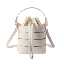 Fashion Hollow Women handbag Small Female Shoulder Crossbody Bags High  Quality Handbags Women Bucket Bag Designer 7f04f36f7d6fb