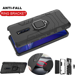 На Алиэкспресс купить чехол для смартфона armor ring case for vivo x27 pro case magnetic car hold shockproof soft bumper phone cover for vivo y93 y91 case