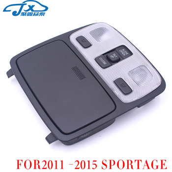 For KIA SPORTAGE After 2011, roof reading light map light lighting assembly ceiling light sunroof switch black original