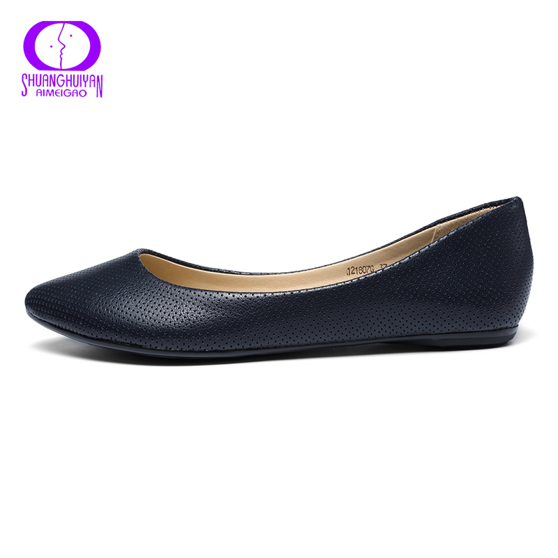 Tamaño Planos Cómodos Mocasines De white Colores on Otoño Mujer Cuero Mujeres Blue Marca Zapatos Slip 3 Las Primavera khaki Aimeigao Suave Gran grey PcAqw6tt