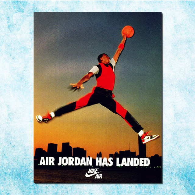 Michael Jordan Shoes Mj 23 Chicago Bulls Nba Mvp Basketball Silk Canvas Poster 13×18 24x32inch Picture Room More-8