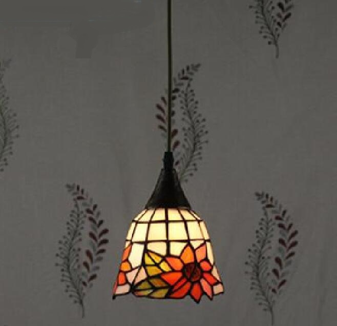 Tiffany The Mediterranean restaurant in front of the hotel cafe bar small aisle entrance hall creative pendant light DF57 the restaurant in front of the hotel cafe bar small aisle entrance hall creative pendant light mediterranean