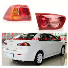 купить 1PCS Rear Tail Light for Mitsubishi Lancer-EX EVO 10 2007-2014 Warning Light No Bulb Brake Light Rear Bumper Light  Stop Lamp по цене 2233.35 рублей