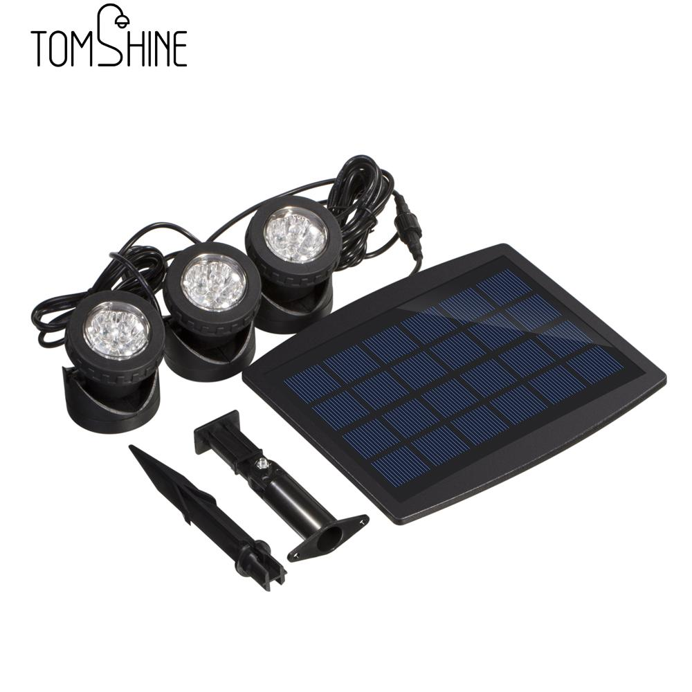 New LED Solar Light Spotlight Landscape Garden Yard Path Lawn Lamps Outdoor  Grounding Sun Light Colorful 18 LEDs Projector Light In Solar Lamps From  Lights ...