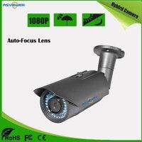 1080P Resolution 4X Motor Zoom Auto Focus Lens CCTV Camera IMX323 CMOS Sensor Waterproof 40M IR distance AS MHD8407AF