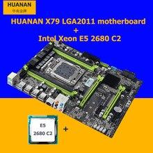 HUANAN V2 49 X79 motherboard CPU combos CPU Intel Xeon E5 2680 C2 2 7GHz RAM
