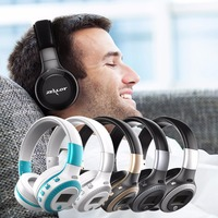 ZEALOT B19 Bluetooth Headsets Headphones LCD Display Wireless Stereo With Mic Micro Security Digital Card Slot