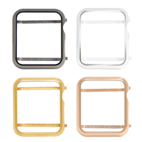 Metal case bezel cover for Apple Watch series 4 series 3 series 2 series 1 38mm 42mm 40mm 44mm