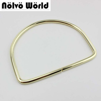 20pcs 6.0 line Semicircle Big Rings 115mm inside for strap ring bags  bags handle Pants Connect handmade alloy metal