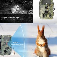 12MP 1080P охотничья ловушка Trail камера IP54 инфракрасная камера ночного видения Дикая камера