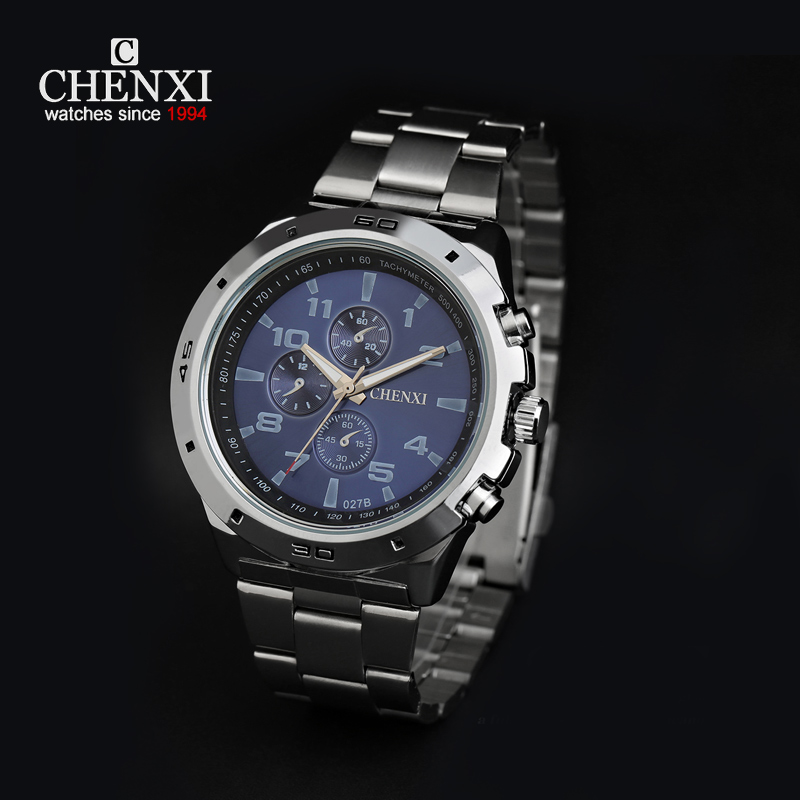 chenxi quartz digital display top brand luxury