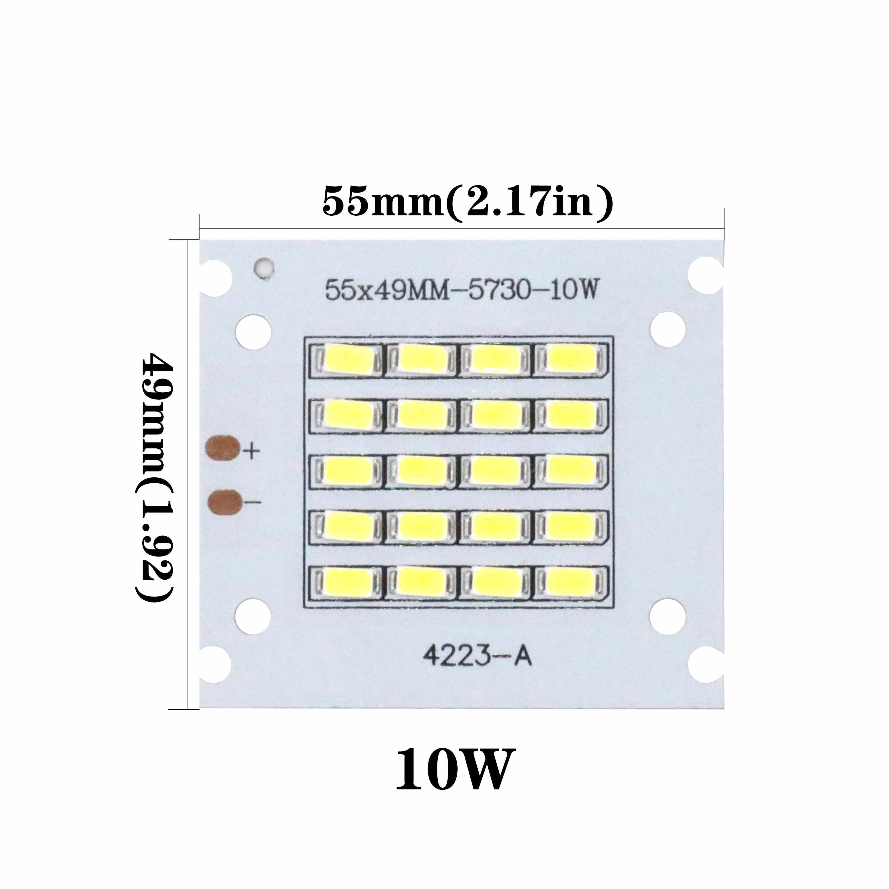 High Power 50W 100W 200W LED Bulb COB Chip White High lumen Lamp For Outdoor Indoor FloodLight For DIY LED